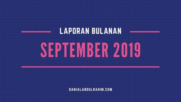 Laporan Bulanan September 2019