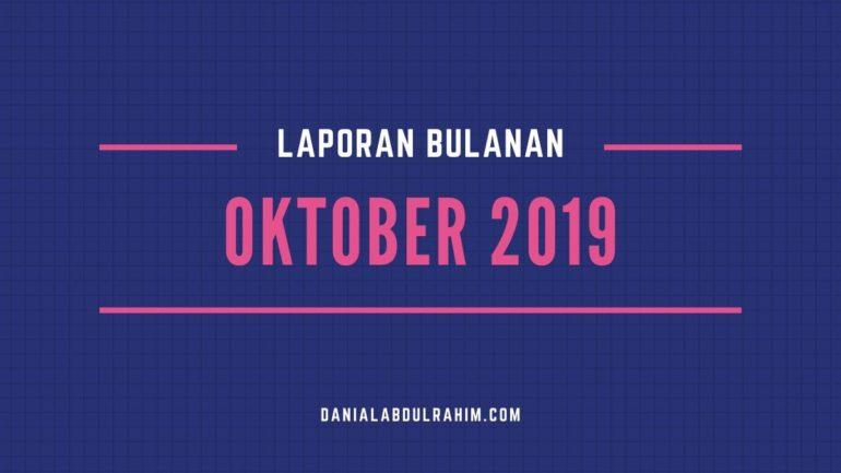 Laporan Bulanan Oktober 2019
